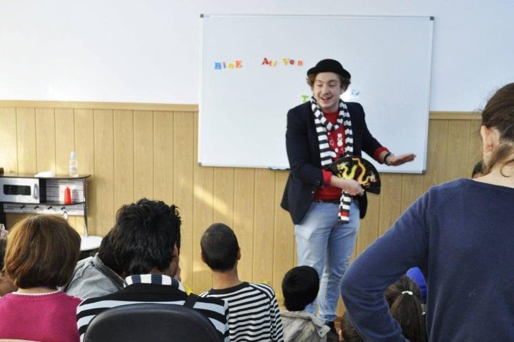 Magicianul Ciprian la scoala nr. 2 Maria Montessori, Constanta